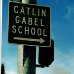 Catlin Gabel School sign